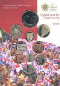 2012 Brilliant Uncirculated Coin Collection